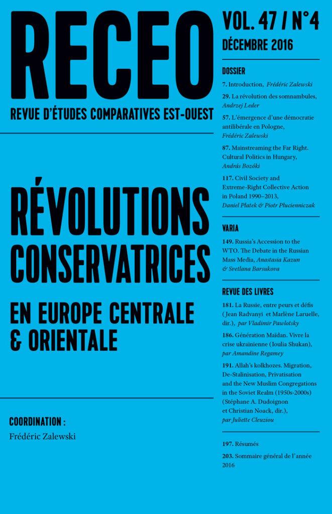 Révolutions conservatrices en Europe centrale et orientale