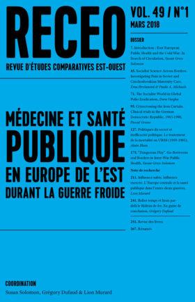 Médecine et santé publique. En Europe de l'est durant la guerre froide