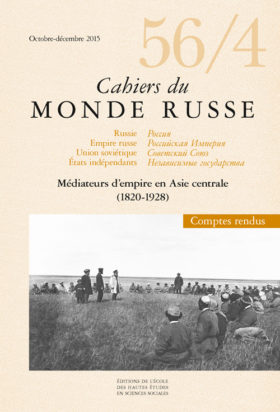 Médiateurs d'empire en Asie centrale (1820-1928)